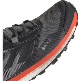 adidas TERREX Agravic XT GTX Zapatillas Hombre, grey five/core black/active orange